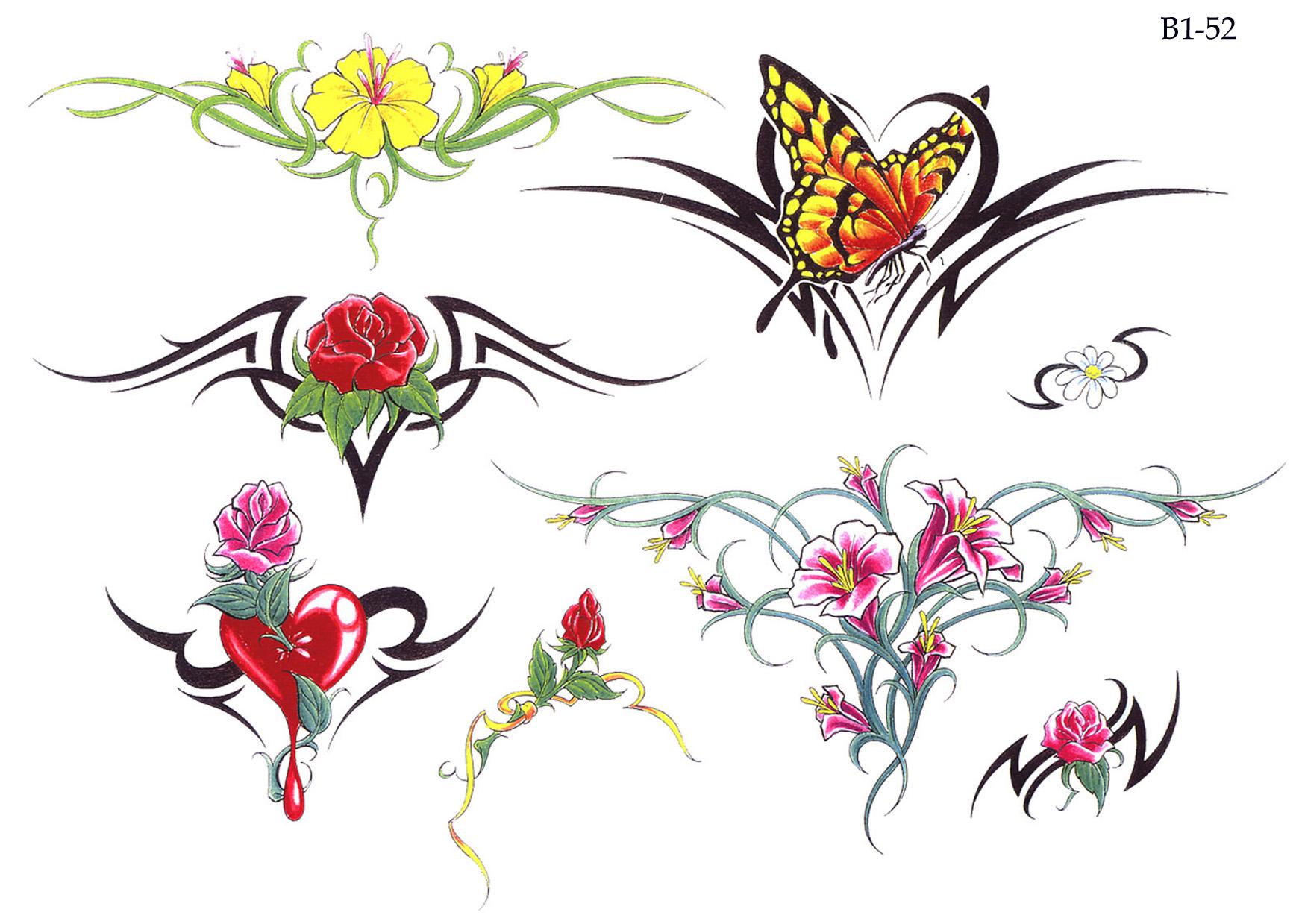 Женские эскизы татуировки