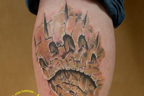 Татуировка След Медведя
