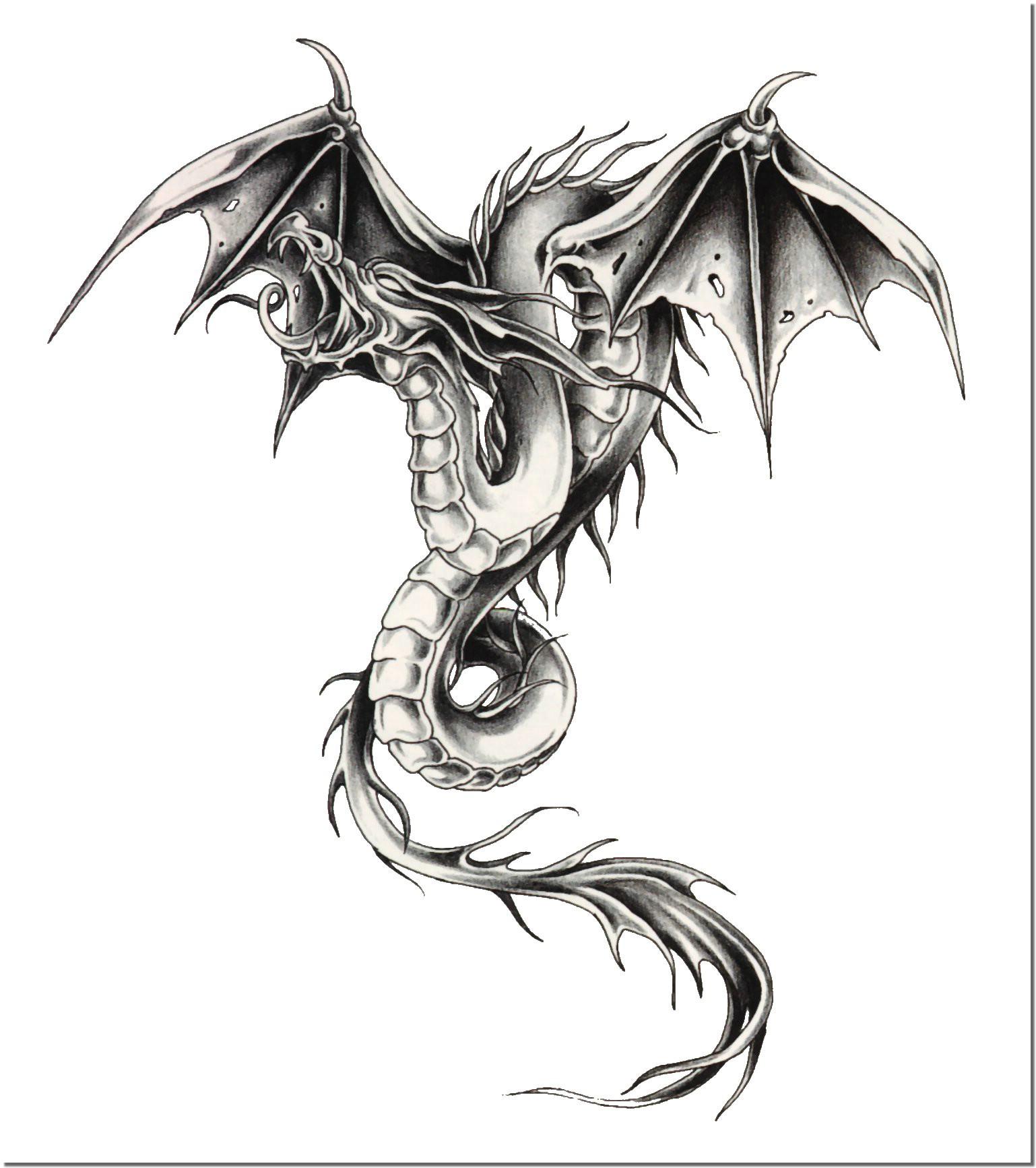 наколка дракон значение в тюрьме