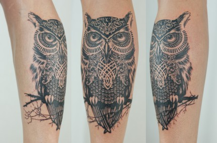 Тату Сова — Owl Tattoo