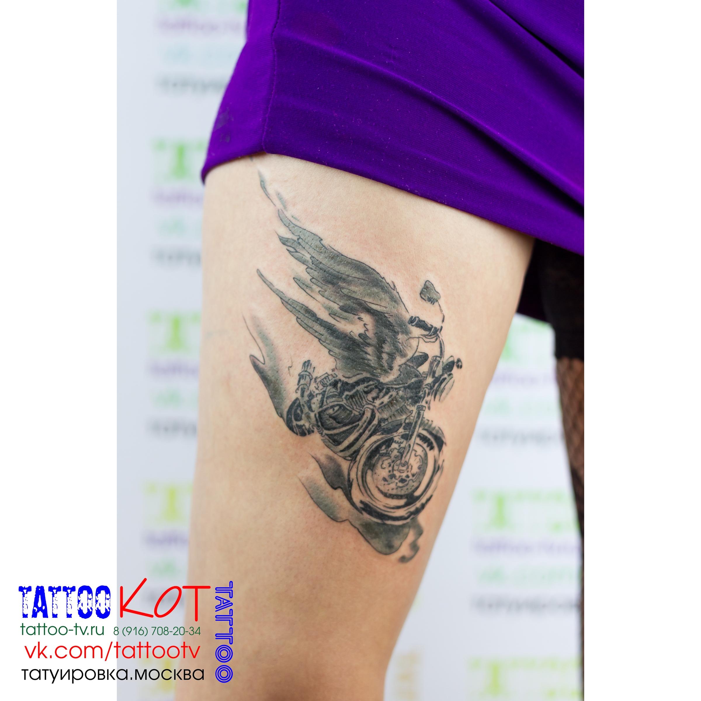 фото мото татуировки